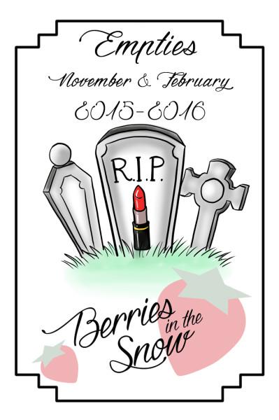 November – February Empties 2015/2016