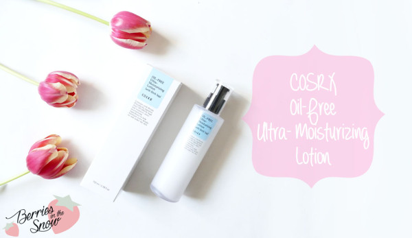 CosRX Oil-Free Ultra Moisturizing Lotion