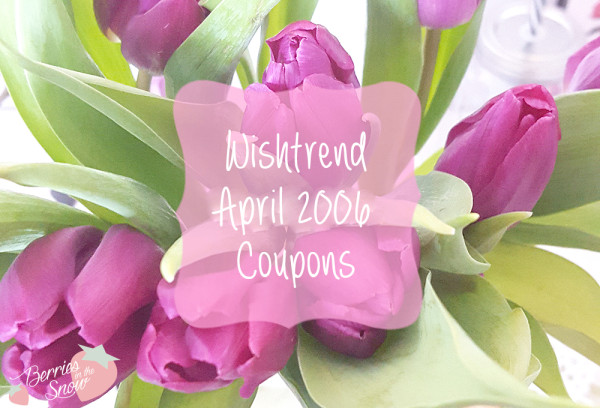 Wishtrend April 2016 Coupons