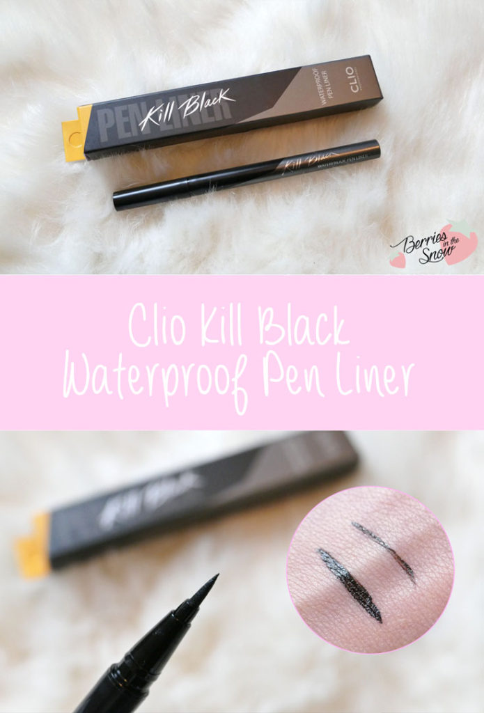 Clio Kill Black Waterproof Pen Liner