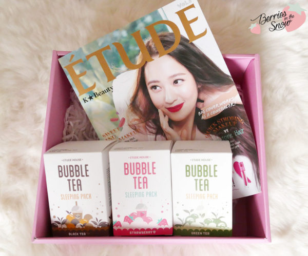 Etude House Bubble Tea Sleeping Pack