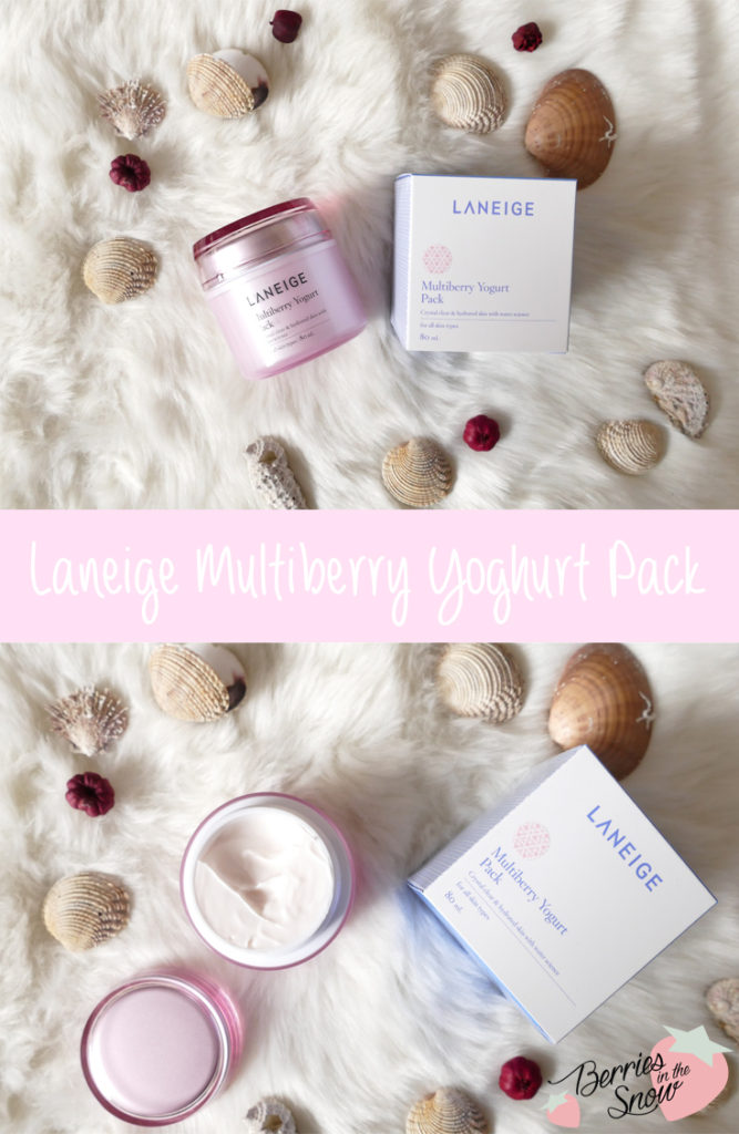 Laneige Multiberry Yoghurt Pack