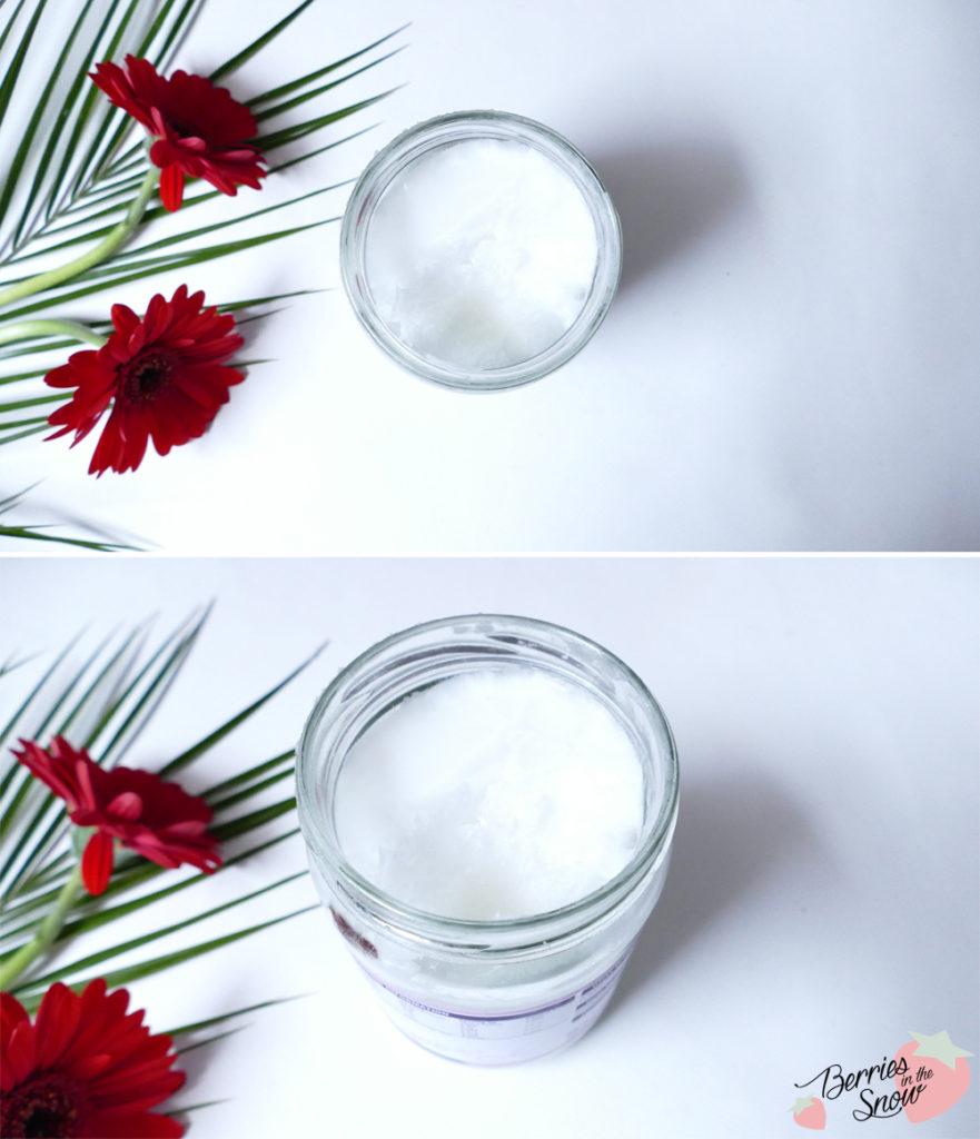 DIY Coconut Matcha Body Butter