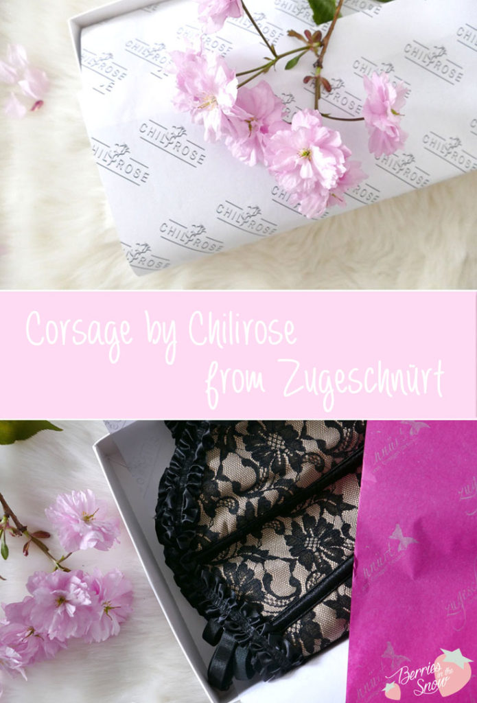 Corsage by Chilirose from Zugeschnürt