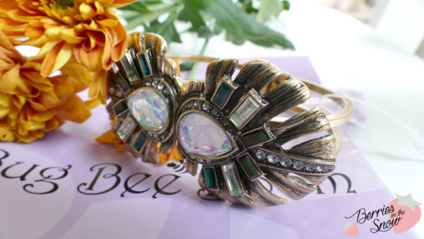 Leaf Style Bangle from Bug Bee Boom