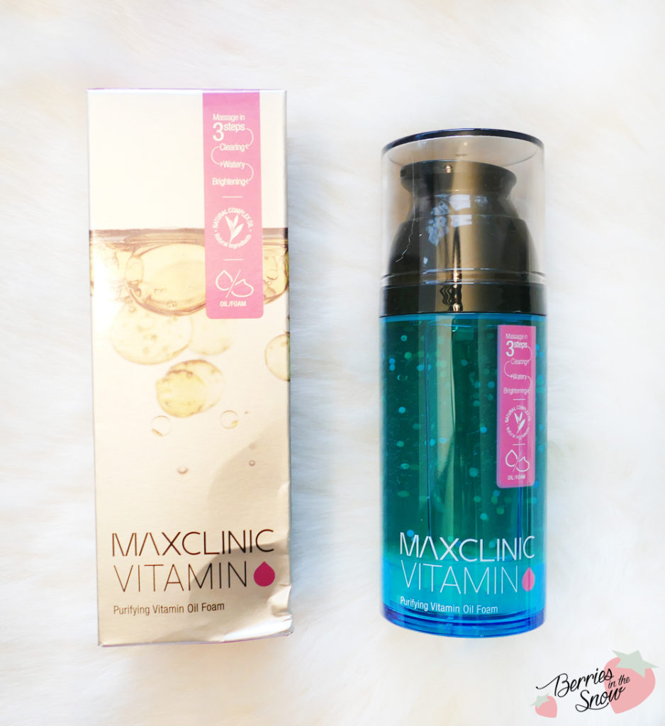 MAXCLINIC Purifying Vitamin Oil Foam