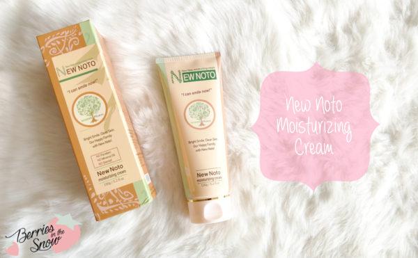 New Noto Moisturizing Cream