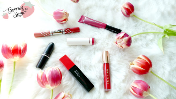 Top 6 Favorite Lip Products for Valentine's Day