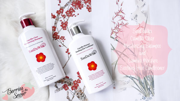 SanDaWha Camellia Shampoo and Conditioner