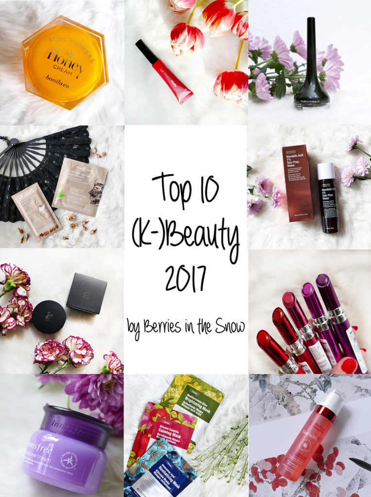 Top 10 (K-)Beauty Products 2017