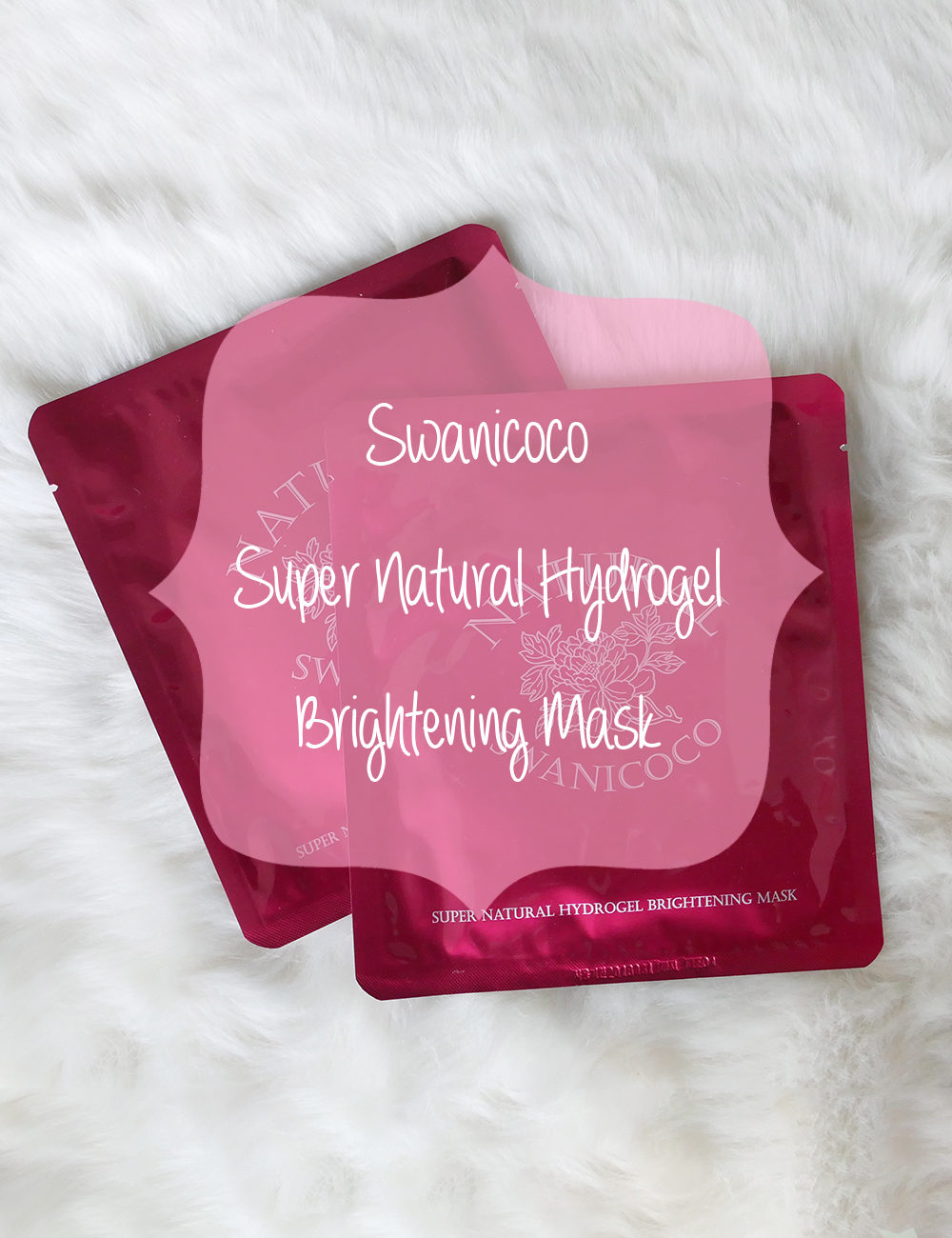 Swanicoco Super Natural Hydrogel Brightening Mask