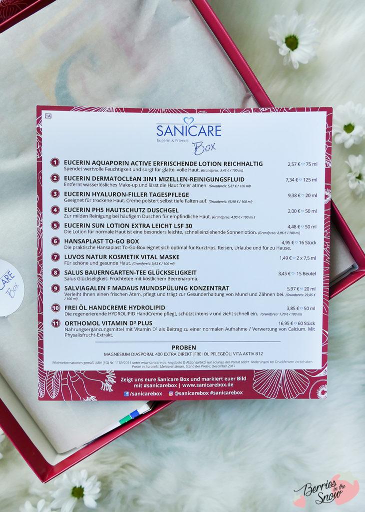 Sanicare Box Eucerin