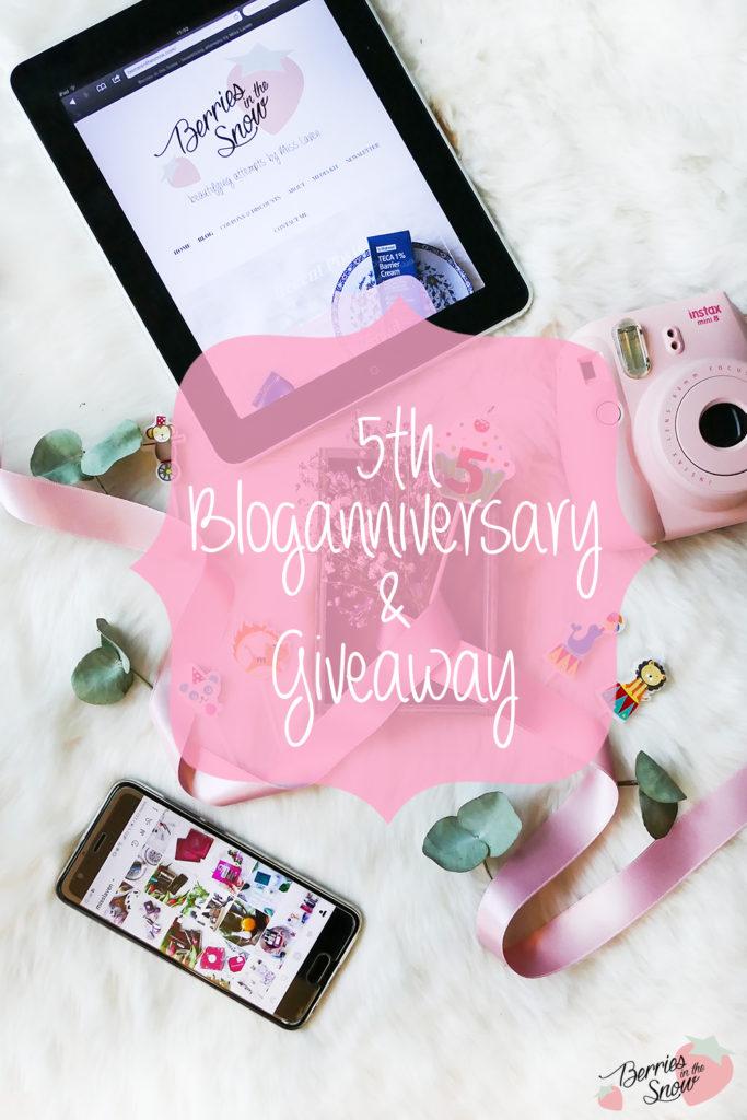 5th Bloganniversary