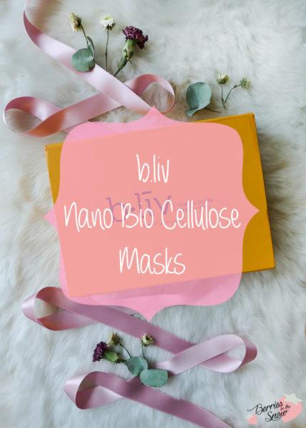 Bliv Nano Bio Cellulose Masks