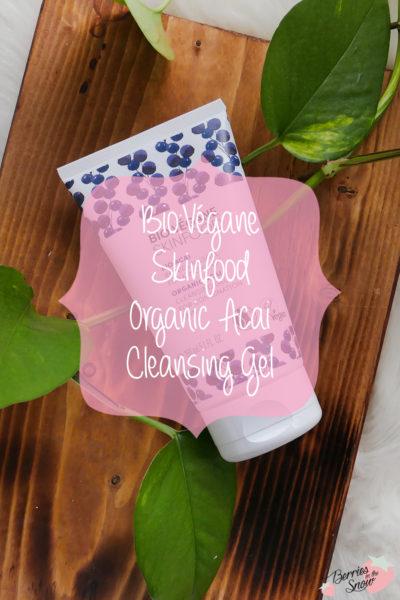 Bio:Végane Skinfood Organic Acai Cleansing Gel