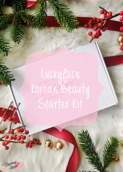 Luckyface Korean Beauty Starter Kit